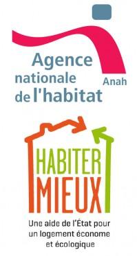 Logos de l'ANAH et du programme Habiter mieux