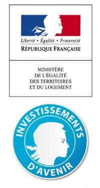 Logos de l'Etat et du programme Investissement d'Avenir