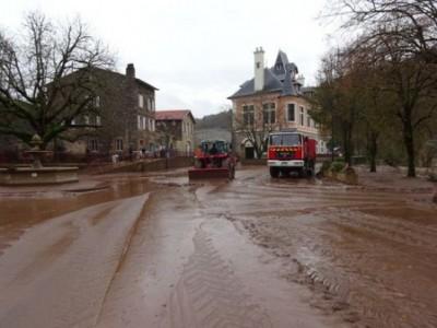 Inondation à Ambialet - novembre 2014
