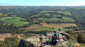 Vue depuis le calvaire de Mont-Roc