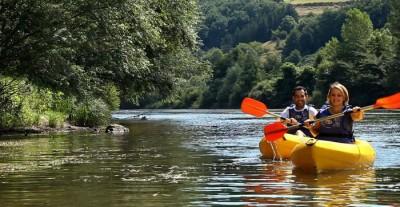 Canoë sur les eaux du Tarn © CDT