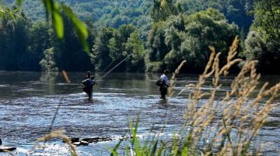 Pêche en vallée du Tarn © CDT