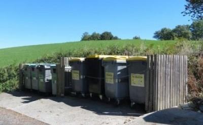 Point d'apport volontaire des déchets