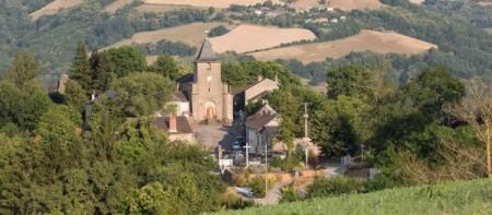 Vue sur le village de Saint-André