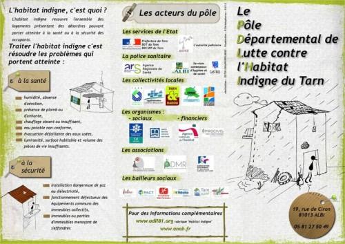 Plaquette du Pôle départemental de lutte contre l'habitat indigne (PDLHI)