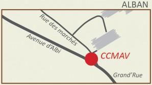 Plan d'accès à la CCMAV