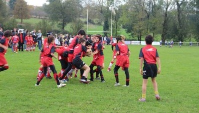 Match de rugby à Alban