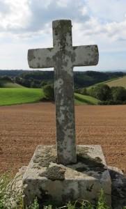 Croix sur la commune de Curvalle