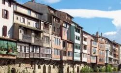Maisons sur l'Agout à Castres