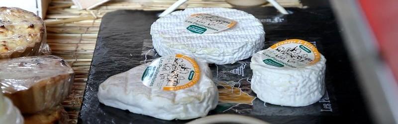 Plateau de fromages produits localement - Les paulinetoises © CDT