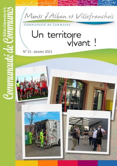 Bulletin n°15 - Janvier 2021