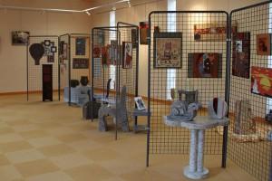 Exposition de l'association Familles Rurales à la salle d'exposition de Villefranche d'Albigeois - 2013