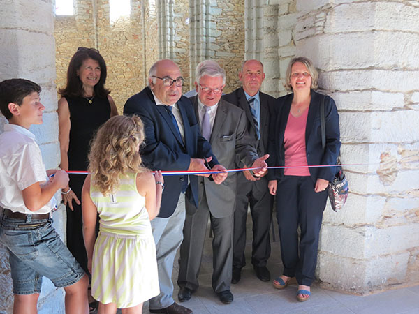 Inauguration de l'espace culturel intercommunal de Massals