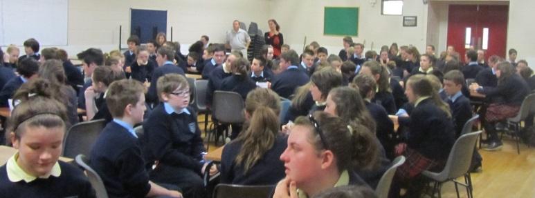 Correspondants irlandais au collège d'Alban