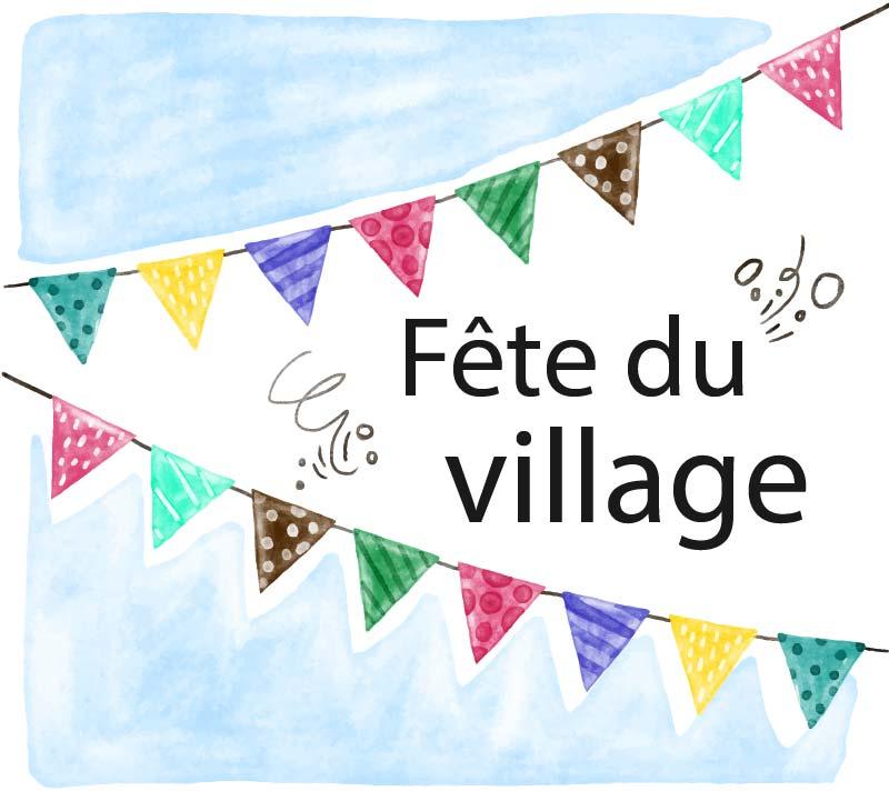 Fête du village de Bellegarde
