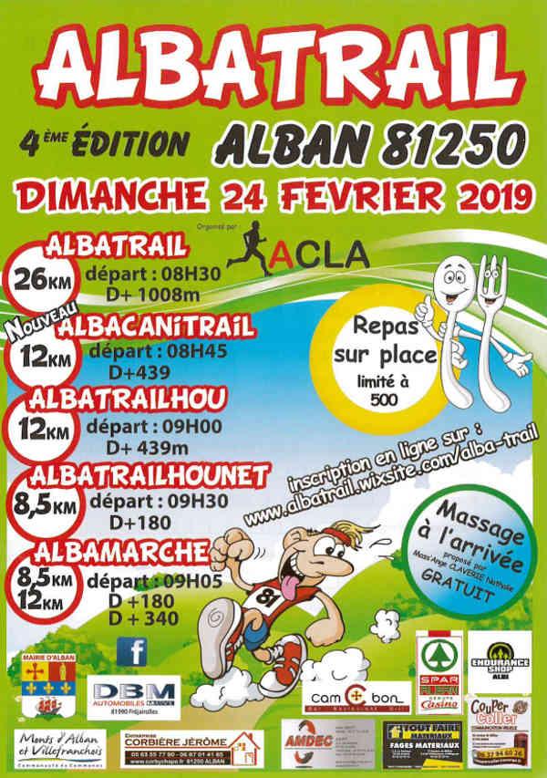 4°Edition de l'Albatrail à Alban