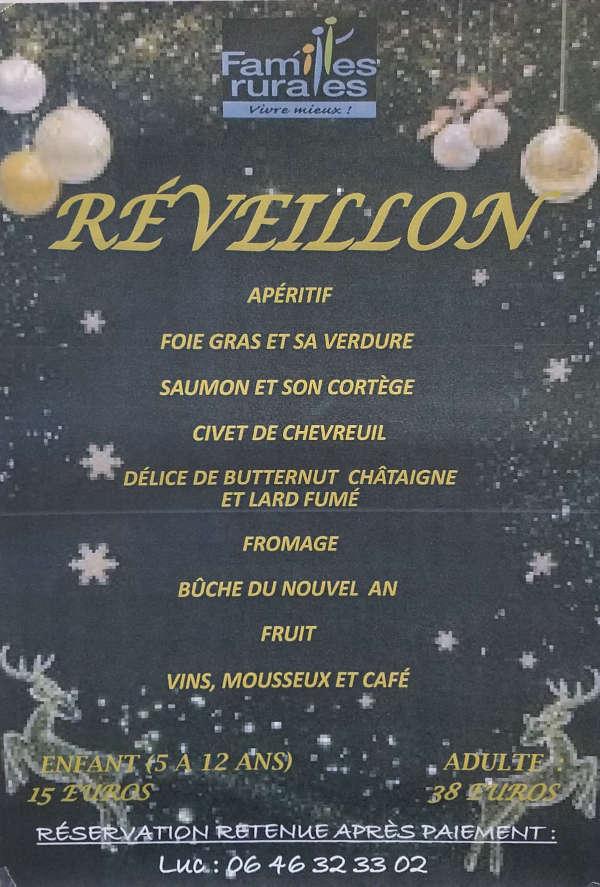 Réveillon Salle Notre Dame à Villefranche d'Albigeois