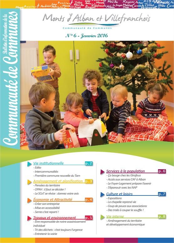 Bulletin intercommunal de janvier