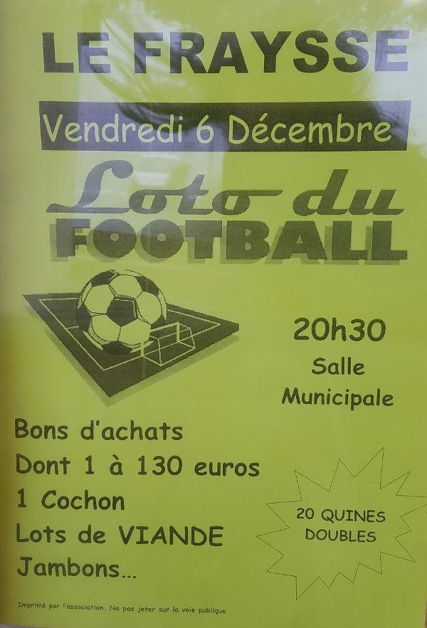 Loto du foot au Fraysse