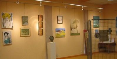Inscription à l'exposition des artistes locaux