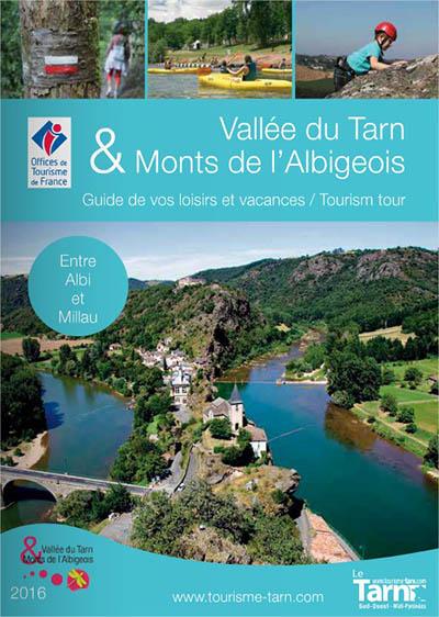 """Guide pratique de la """"Vallée du Tarn et des Monts de l'Albigeois"""" 2016"""