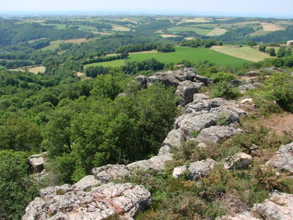 Le site d'escalade et de découverte-nature du Calvaire