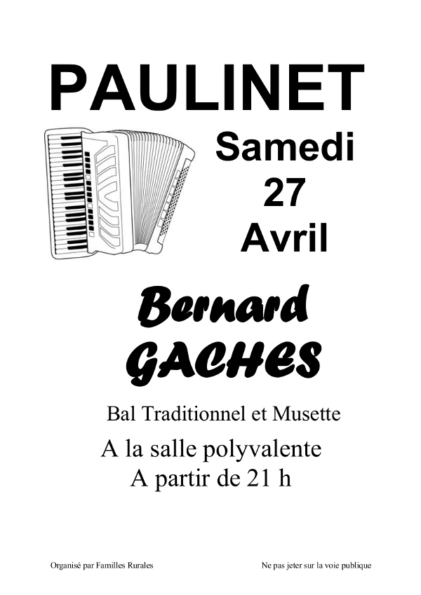Bal traditionnel à Paulinet