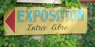 Exposition à l'église Saint Gilles à Ambialet