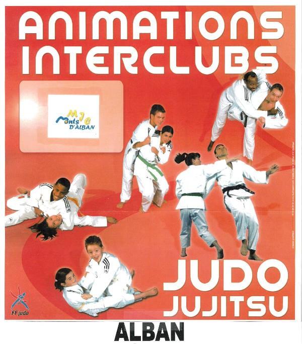Animation interclubs de Judo à Alban