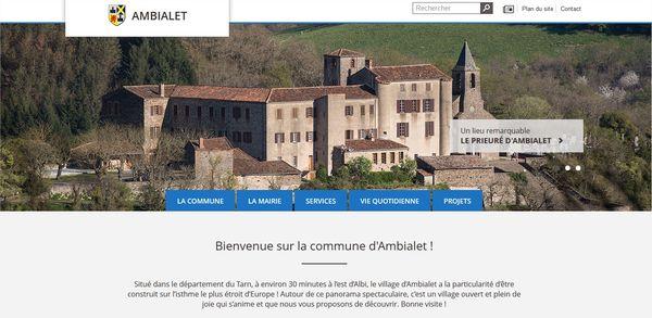 Site internet d'Ambialet