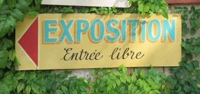 Exposition à l'église St-Gilles à Ambialet