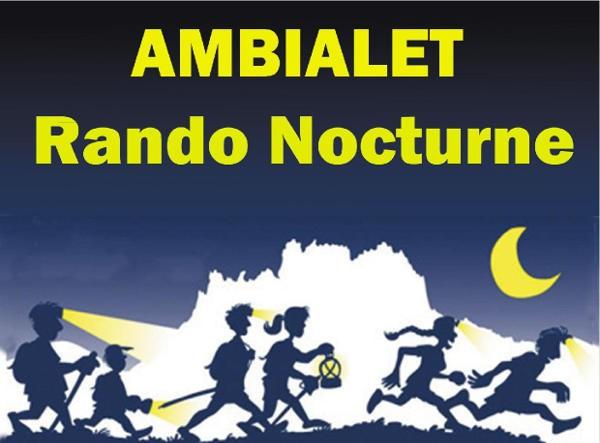 Randonnée Nocturne à Ambialet