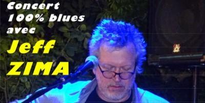 Concert 100% Blues au Café de la Presqu'île à Ambialet