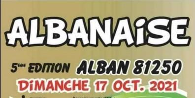 5ème édition de l'Albanaise - Course VTT