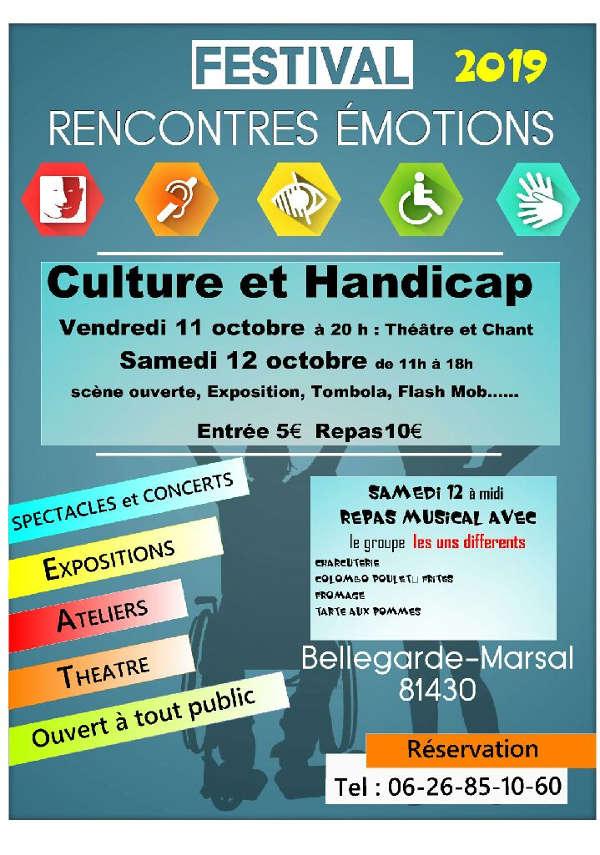 Festival Rencontres Emotions à Bellegarde-Marsal