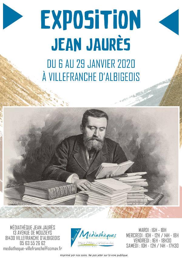 Exposition sur Jean Jaurès à Villefranche d'Albigeois