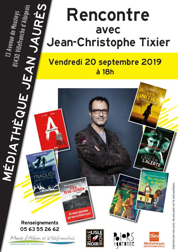 Rencontre d'auteur à Villefranche d'Albigeois