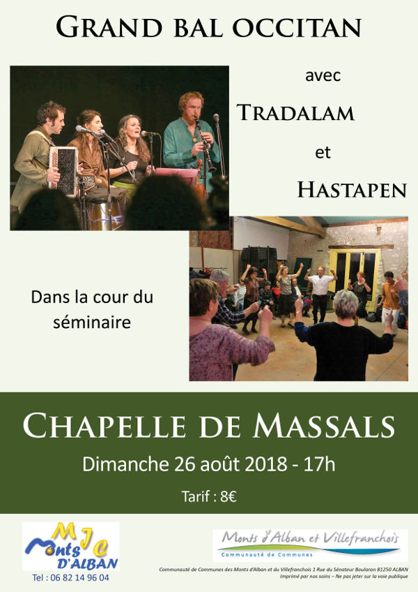 Bal traditionnel à la Chapelle de Massals