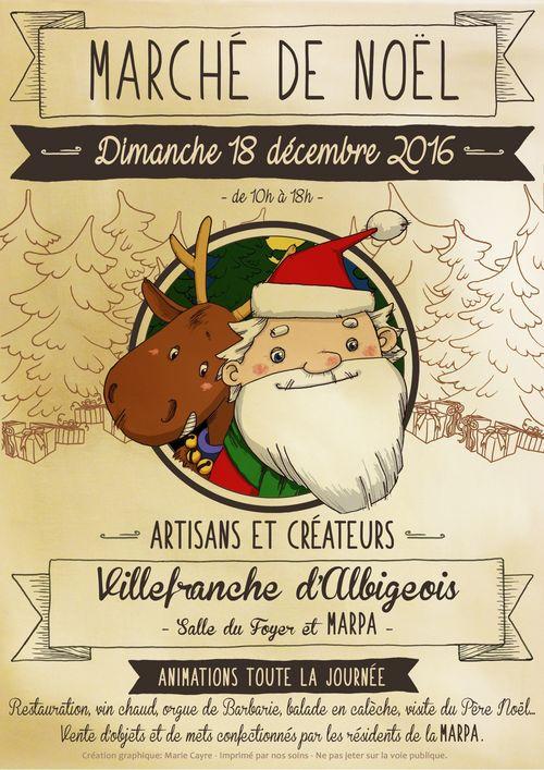 Fêtes de fin d'année à Villefranche d'Albigeois