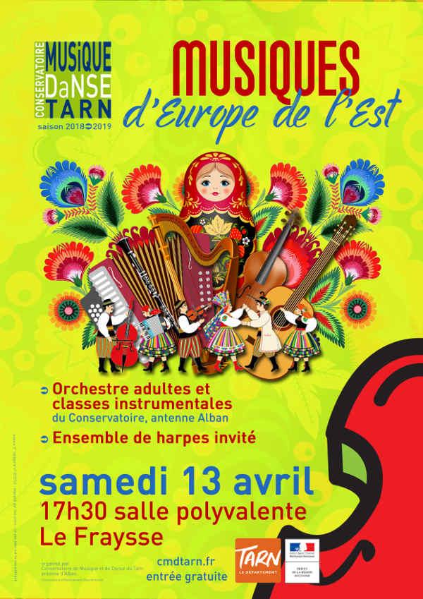 Concert de l'école de Musique au Fraysse