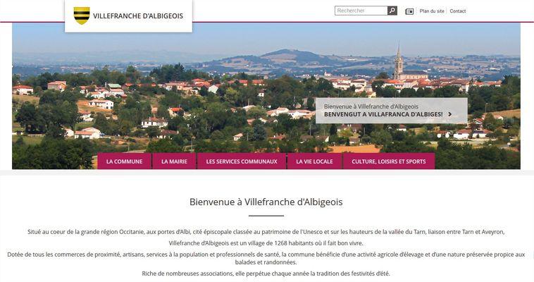Nouveau site internet à Villefranche d'Albigeois