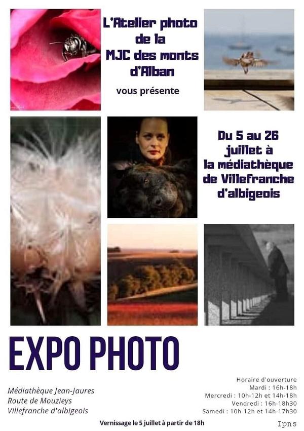 Exposition de l'atelier photo de Villefranche d'Albigeois