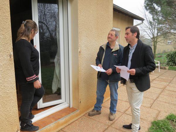 Conférence de presse à Villefranche d'Albigeois