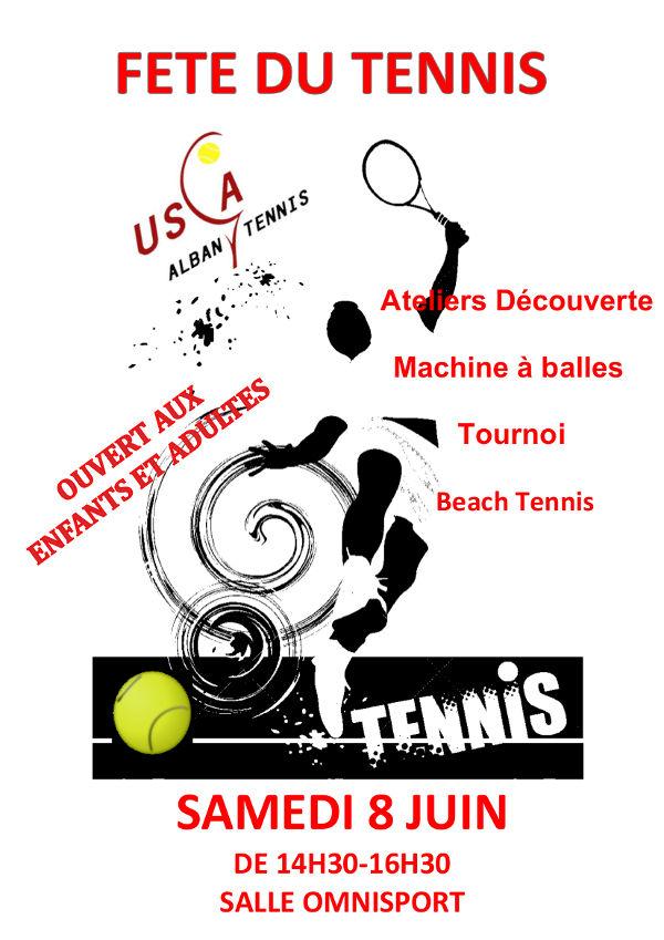 Fête de l'USCA Tennis