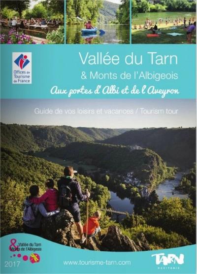 """Guide pratique de la """"Vallée du Tarn et des Monts de l'Albigeois"""" 2017"""
