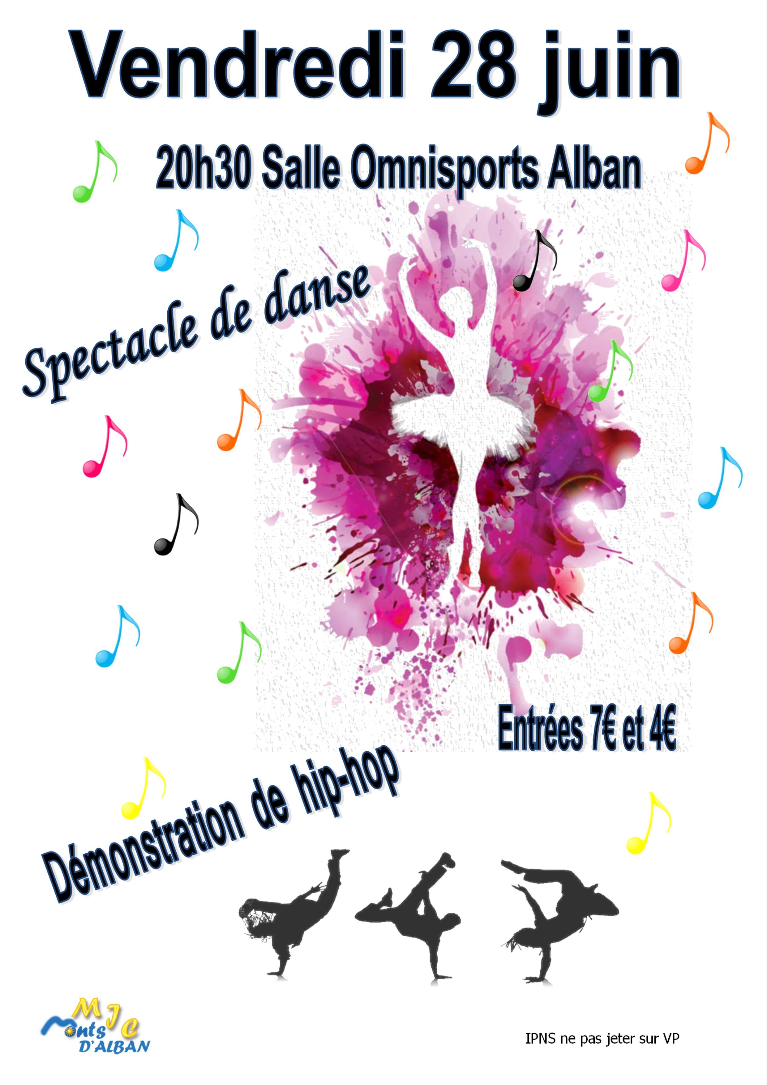 Gala de danse à Alban