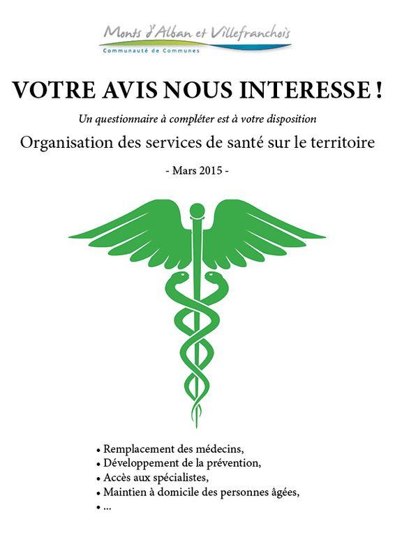 Projet de santé : votre avis nous intéresse !