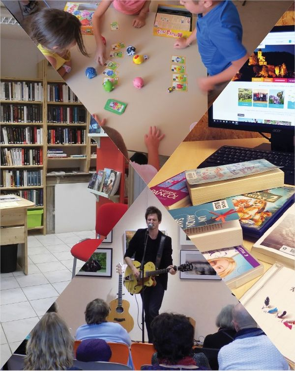Inauguration du réseau des médiathèques à Villefranche d'Albigeois