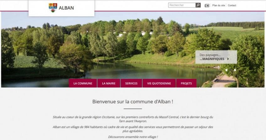 Alban : la mairie crée son site internet