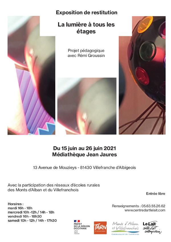Exposition des Réseaux des Ecoles à la médiathèque Jean JAURES